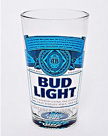 Bud Light Pint Glass - 16 oz.