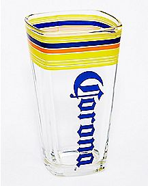 Square Corona Pint Glass - 16 oz.