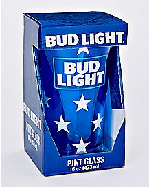 Neon Bud Light Pint Glass - 16 oz.