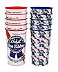 Pabst Blue Ribbon Cups - 10 Pack