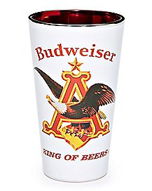 King of Beers Pint Glass 16 oz. - Budweiser