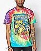 Space Bear Tie Dye Grateful Dead T Shirt