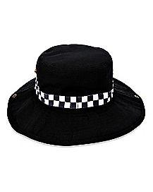 Checkered Boonie Hat