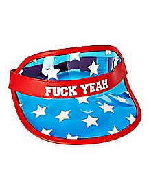 Fuck Yeah America Visor
