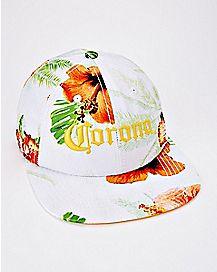 Floral Corona Camper Hat