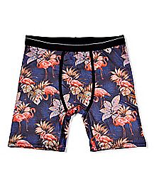 Tropical Flamingo Boxer Briefs