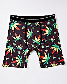Rasta Leaf Boxer Briefs