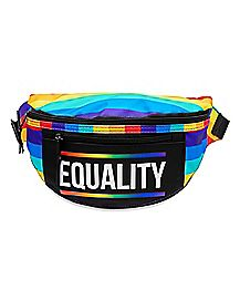 Rainbow Equality Fanny Pack