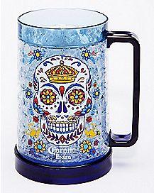Skull Corona Freezer Mug - 16 oz.