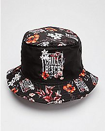 Floral Chill Bitch Bucket Hat