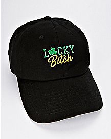 Lucky Bitch Dad Hat