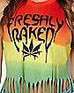 Rasta Freshly Baked Fringe Tank Top