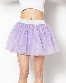 Purple Glitter Light Up Tutu
