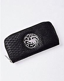 House Targaryen Zip Wallet - Game of Thrones