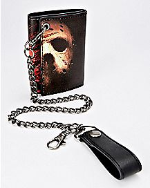 Jason Voorhees Chain Wallet - Friday the 13th