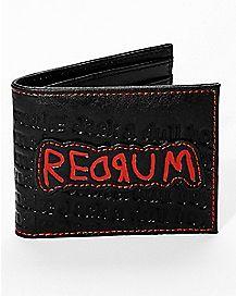 Redrum Bifold Wallet - The Shining