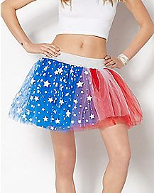 Light Up American Flag Tutu