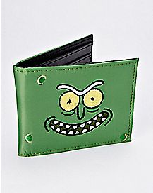 Pickle Rick Bifold Wallet - Rick and Morty