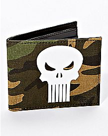 Camo Punisher Bifold Wallet - Marvel