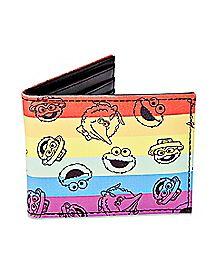 Rainbow Sesame Street Bifold Wallet