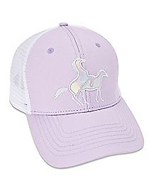 Iridescent Humping Unicorn Trucker Hat