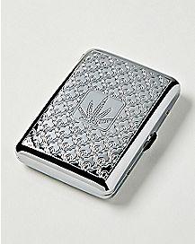 Weed Leaf Cigarette Case