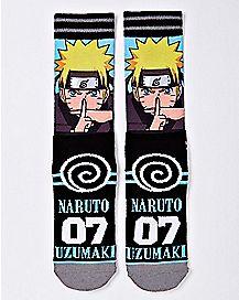 Uzumaki Crew Socks - Naruto