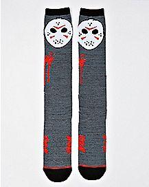 Jason Voorhees Knee High Socks - Friday the 13th