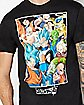 Group Dragon Ball Z T Shirt