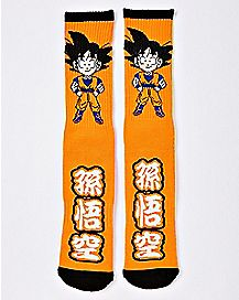 Chibi Goku Crew Socks - Dragon Ball Z