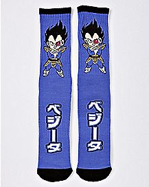 Chibi Vegeta Crew Socks - Dragon Ball Z