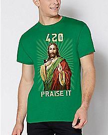 Jesus 420 Praise It T Shirt