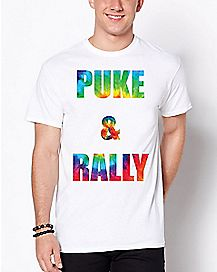 Puke And Rally T Shirt