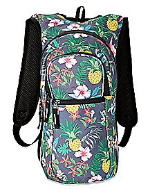 Floral Built Up Hydration Bag