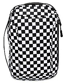 Checkered Sling Backpack