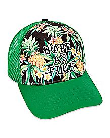 afeb2f6e035d8 Dope As Fuck Floral Trucker Hat