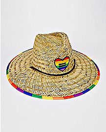 Pride Flag Lifeguard Hat