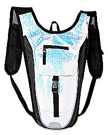 Scaled Iridescent Hydration Bag