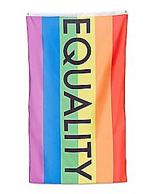 Rainbow Equality Flag Banner