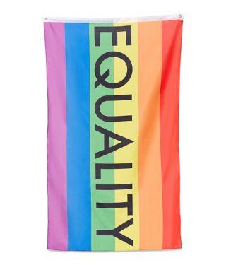 rainbow equality flag banner
