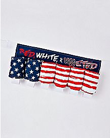 Red White and Wasted Beer Belt