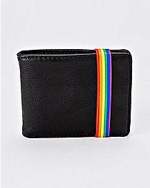 Rainbow Strap Bifold Wallet