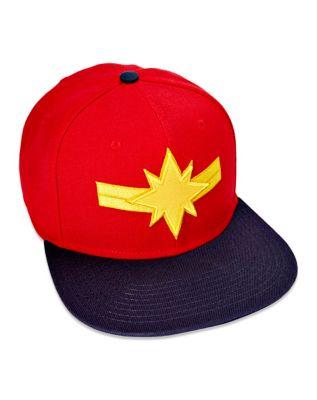 56f344d1cc5aa Captain Marvel Snapback Hat - Marvel - Spencer s
