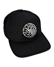 e889646032e House Targaryen Snapback Hat - Game of Thrones