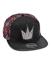 b71474336e3 Plaid Kingdom Hearts Snapback Hat - Disney