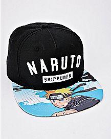 Shippuden Snapback Hat - Naruto
