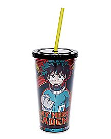 My Hero Academia Cup With Straw - 20 oz.
