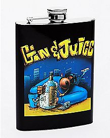Gin and Juice Snoop Dogg Flask - 8 oz.