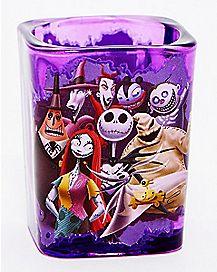 Square The Nightmare Before Christmas Mini Glass 1.5 oz. - Disney