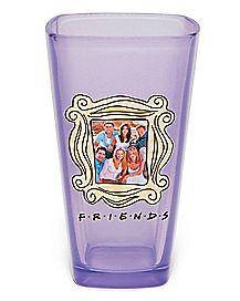 Square Friends Pint Glass - 16 oz.